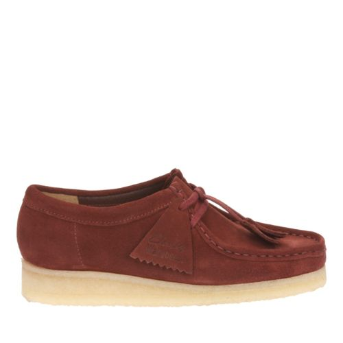 Wallabee. Nut Brown Suede originals-womens-shoes