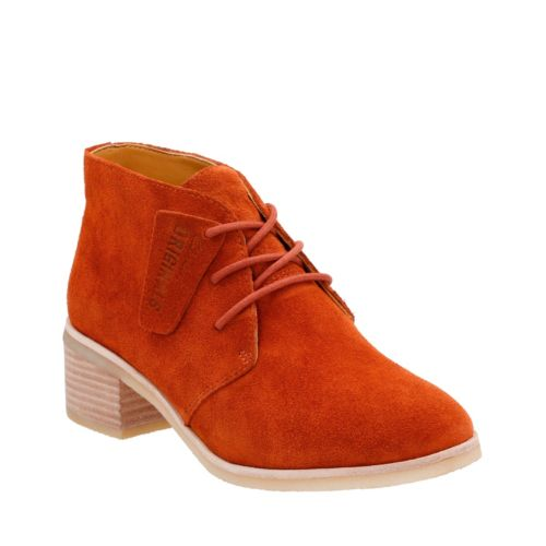 Phenia Carnaby Rust Vintage originals-womens-boots