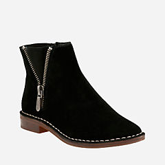 Cabaret Ruby Black Suede womens-boots-view-all