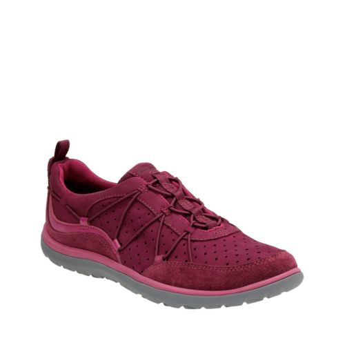 Aria Flyer Plum Leather womens-active