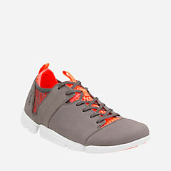 Tri Active Grey Orange Nubuck womens-casual-shoes