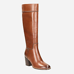 Othea Rose Tan Leather womens-boots