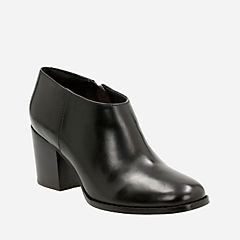 Othea Ada Black Leather womens-heels