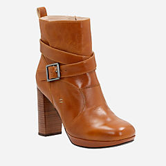Gabriel Mix Tan Leather womens-ankle-boots