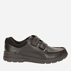 Obie Play Inf Black Leather boys-shoes