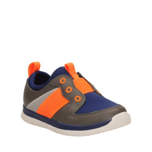 Ath Walk First Grey Leather boys-shoes