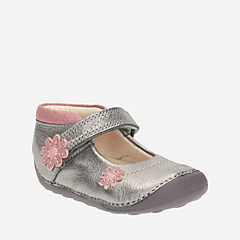 Little Fizzi Baby Metallic Leather girls