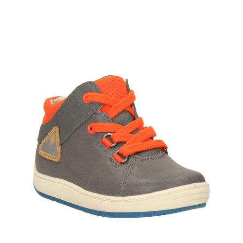 Maxi Made First  Grey Leather boys-shoes