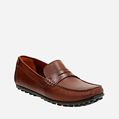Hamilton Way Cognac Leather mens-loafer-slip-on