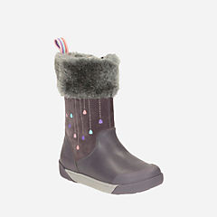 Lil Folk Rae Toddler Anthracite Lea girls-boots