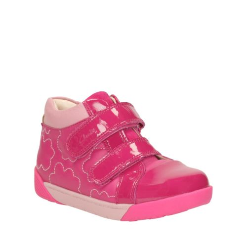 Lil Folk Emy Toddler Pink Leather girls-toddler