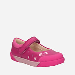 Lil Folk Peg Toddler Pink Leather girls-toddler