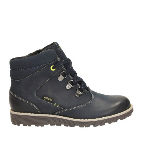 Day Hi GTX Toddler  Navy Leather boys-boots