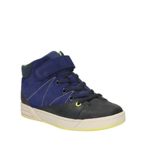 Topic Hi Toddler Navy Combi Lea boys-shoes