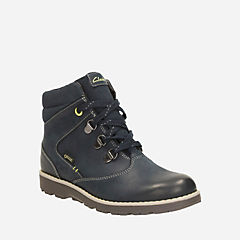 Day Hi GTX Youth Navy Leather boys-boots