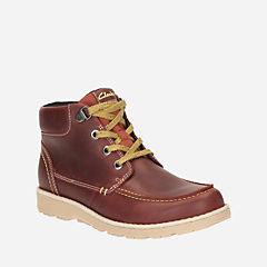 Day Magic Youth Chestnut Leather boys-boots