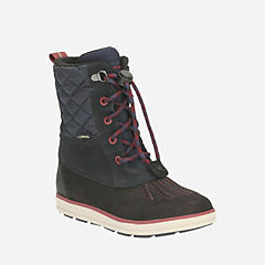 Syd Hi GTX Youth Navy Leather boys-boots