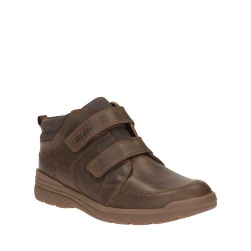 Shadow Fun Toddler Brown Leather boys-shoes