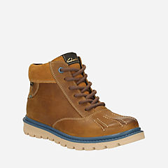 Dan Hi GTX Toddler Tan Leather boys-boots