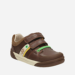 Lil Folk Cub Toddler Brown Leather boys
