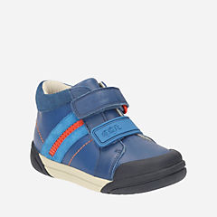 Lil Folk Mac Youth Blue Leather boys-shoes