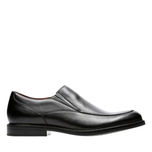 Beckfield Step Black Leather mens-dress-shoes