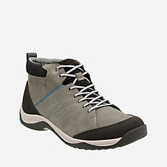 Baystone Up GTX Grey Warm Lined Nubuck mens-ortholite