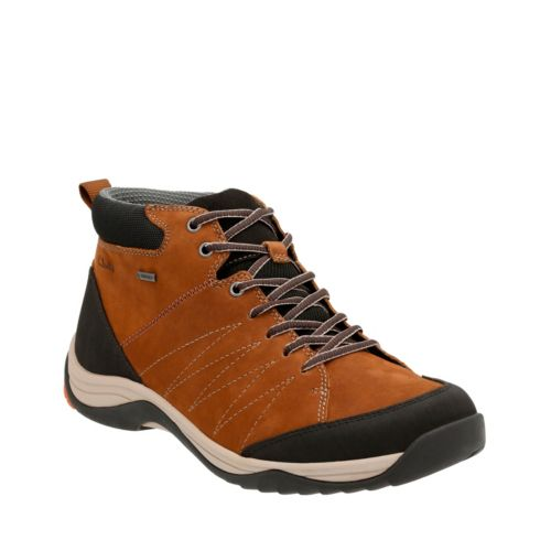 Baystone Up GTX Tobacco Nubuck mens-ortholite