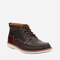 Kyston Mid Dark Brown Lea mens-casual-boots