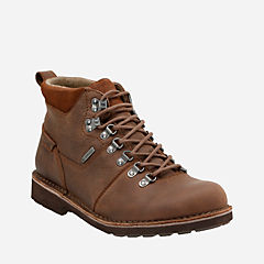 Lawes High Gtx Brown Leather mens-ortholite
