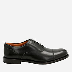Coling Boss Black Leather mens-dress-shoes
