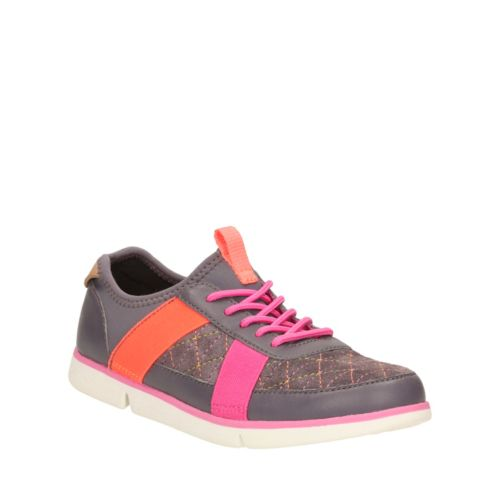 Tri Mavis Youth Anthracite Leather girls