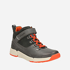 Tri Spike Youth Grey Combi Lea boys-boots