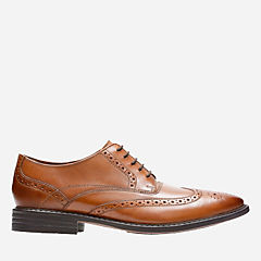 Garvan Edge Tan Leather mens-dress-shoes