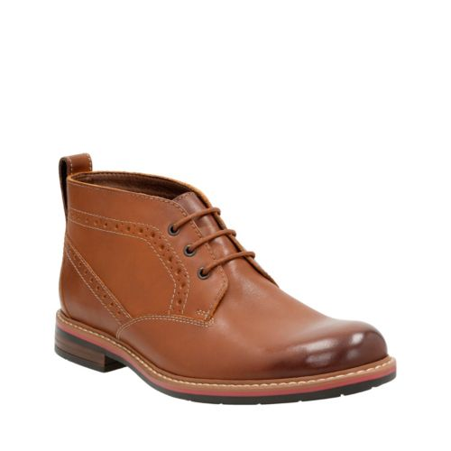 Melshire Top Tan Leather mens-ortholite