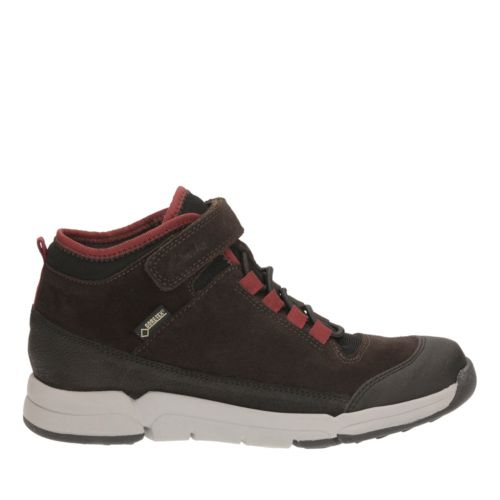 Tri Hi GTX Youth Brown Combi Sde boys-boots