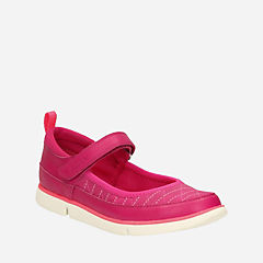 Tri Megan Youth  Berry Leather girls