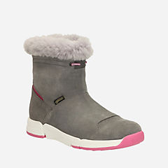Tri Go GTX Youth Grey Suede girls-boots