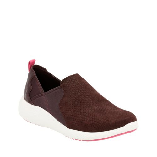 Cowley Aqua Aubergine Snake Leather womens-comfort-shoes