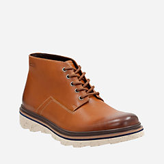 Frelan Hike Cognac Leather mens-ortholite