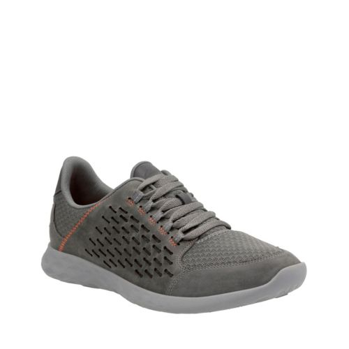 Seremax Avion Grey Leather mens-ortholite