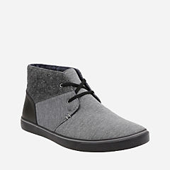 Gosling Mid Grey Combi Fabric mens-casual-boots