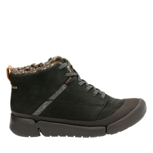 Tri Arc GTX Black Nubuck womens-ankle-boots