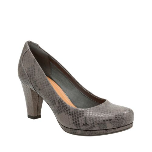 Chorus Chic Taupe Snake Leather womens-heels