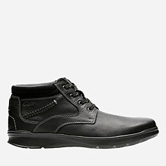 Cotrell Rise Black Oily Leather mens-casual-boots