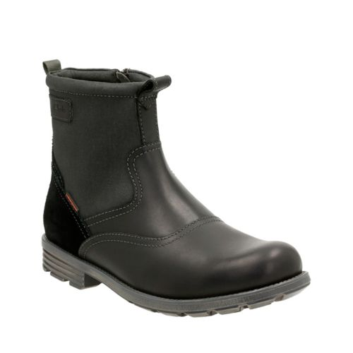 Guard Top Black leather mens-waterproof-boots