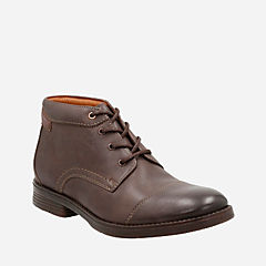 Devington Cap Brown Leather mens-casual-boots
