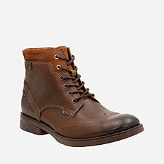 Devington Hi Tobacco Leather mens-dress-boots