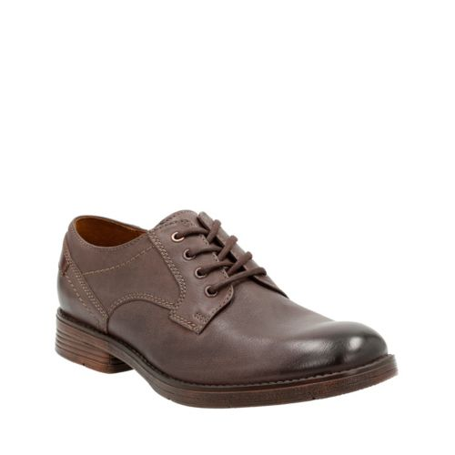 Devington Walk Brown Leather mens-oxfords-lace-ups