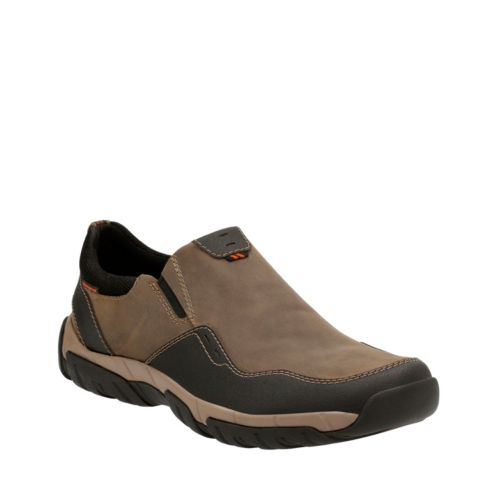 Walbeck Style Olive Leather mens-casual-shoes